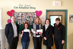 Donation to Humane society