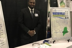 Business to business booth