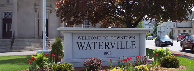 Waterville Sign